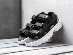 Fila Disruptor Sandals Black/White