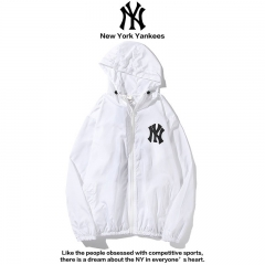 Ветровка New York Yankees White