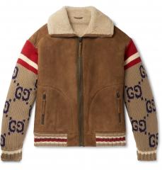 Куртка Gucci Brown/Red KZGC01