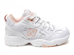 New Balance 608 Leather White/Pink