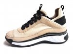 Chanel Cruise Low-Top Sneakers Beige