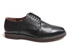 Туфли Mirko Osvaldo Black Leather MO09