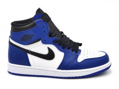 Air Jordan 1 Retro Mid Blue/White/Black
