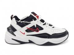 Nike M2K Tekno White/Black/Red