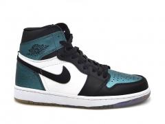 Air Jordan 1 Retro High Black/White/Turquoise