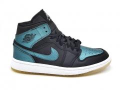 Air Jordan 1 Retro Mid Black/Turquoise