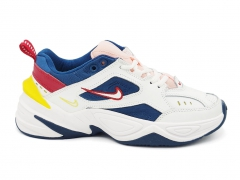 Nike M2k Tekno White/Navy/Red/Yellow
