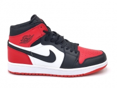 Air Jordan 1 Retro Mid Therma Black/Red/White