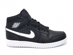 Air Jordan 1 Retro Mid Therma Black/White