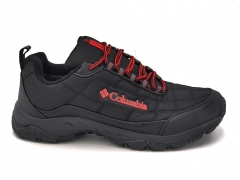 Columbia Thermo Sneakers Black/Red