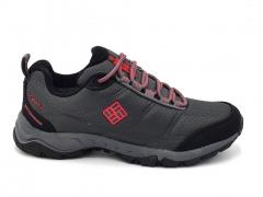 Columbia Waterproof Thermo Sneakers Grey/Black/Red