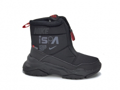 Дутики Nike ISPA Waterproof Black (с мехом)