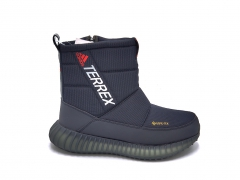 Дутики Adidas Terrex Gore-Tex Navy/White/Red (с мехом)