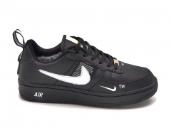 Nike Air Force 1 Low '07 LV8 Utility Black/White (с мехом)