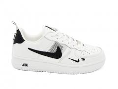 Nike Air Force 1 Low '07 LV8 Utility White (с мехом)