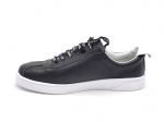 Chanel Weekender Lace Up Sneakers Black  Leather