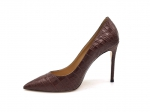 Туфли-лодочки Jimmy Choo Сrocodile Leather Brown