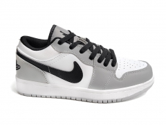 Air Jordan 1 Retro Low Grey/Black/White