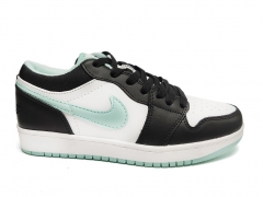 Air Jordan 1 Retro Low Black/White/Mint