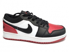 Air Jordan 1 Retro Low Black/Red/White