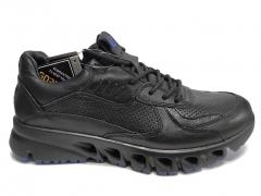 Ecco Multi-Vent 2 Black/Blue Leather