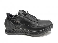 Ecco Exostrike Gore-Tex All Black Leather