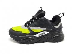 Dior Homme B22 Sneakers Black/Volt