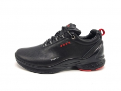 Ecco Biom Fjuel Leather Black/Red