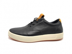 Ecco Soft Sneakers Black Leather