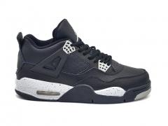 Air Jordan Retro 4 Oreo Black/White