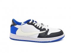 Air Jordan 1 Retro Low White/Blue/Black
