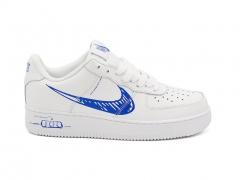Nike Air Force 1 Sketch Pack White/Royal Blue