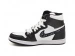 Air Jordan 1 Retro High Dior Black/White/Black