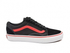 Vans Old Skool Black/Red/White
