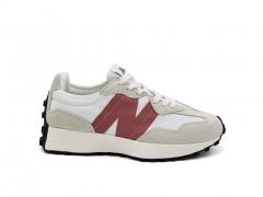 New Balance 327 Beige/White/Red