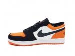 Air Jordan 1 Retro Low Orange Toe Black