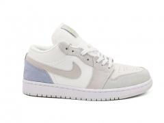 Air Jordan 1 Retro Low White/Grey/Blue