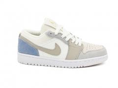 Air Jordan 1 Retro Low White/Beige/Blue
