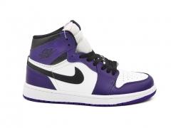 Air Jordan 1 Retro Mid Court Purple White