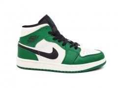 Air Jordan 1 Retro Mid Green/Black