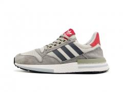 Adidas ZX 500 RM Grey/White/Scarlet