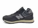 New Balance 574 Mid Fleece Black/Grey