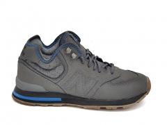 New Balance 574 Mid Fleece Grey/Blue