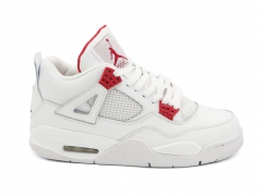 Air Jordan 4 Retro White/Red