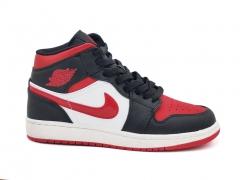 Air Jordan 1 Retro Mid Black/Red/White/Red