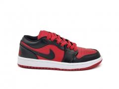 Air Jordan 1 Retro Low Black/Red/Black
