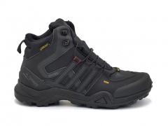 Adidas Terrex GTX 425 Mid Black (с мехом)