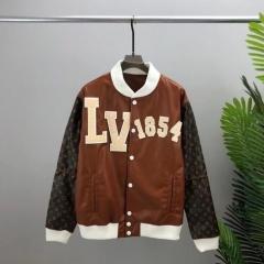 Бомбер Louis Vuitton Brown KZLV01