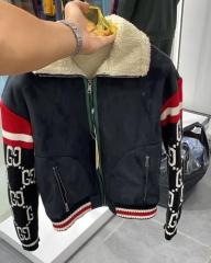 Куртка Gucci Navy/Red KZGC02