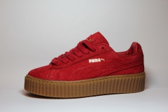 Puma Creepers by Rihanna Red/Brown